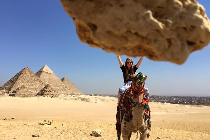 2-Hour Camel or Horse Ride Excursion Around the Pyramids, Guiza, EGIPTO