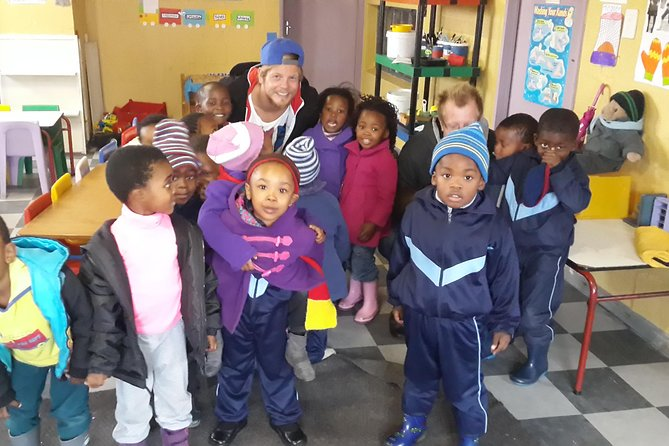 Experience this guided half-day cultural tour, starts in District Six with an introduction to the townships and the damage of apartheid policies, visit several of the townships starting with Langa, the oldest and smallest township where you will see various cultural and historical sites. Visit a local pre-school where you will spend time with local children who are full of energy and fun, you will also visit with a traditional healer and go on a walking tour to a shebeen (local pub) and maybe taste local beer. Enjoy the small group tour on an air-conditioned transport, which remains personal and intimate, there are plenty of opportunities to ask questions and engage with local members of the communities. Choose from one of 2 departure times when you book, if you choose the Robben Island tour extension, your guide will drop you off at Nelson Mandela Gateway at the V and A Waterfront where your trip to Robben Island departs.