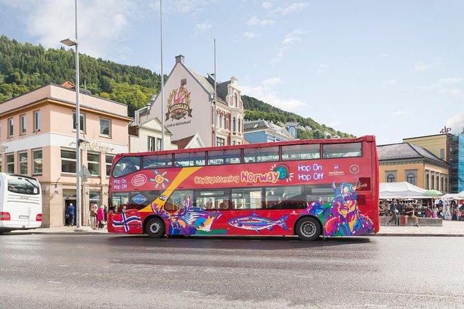 Tour turístico por la ciudad de Bergen en autobús con paradas libres, Bergen, NORUEGA