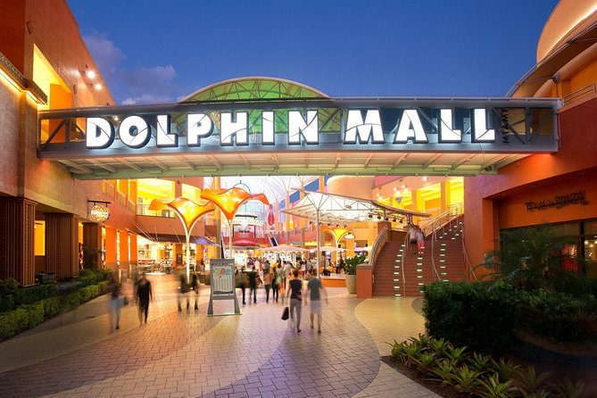 MAIS FOTOS, Dolphin Mall shopping day Round Trip