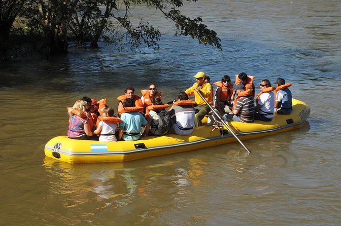 During your visit to Iguazu Falls Argentinian Side, you can include these two wonderful activities called Gran Aventura, a combination of trekking, 4x4 ride and boat navigation in the jungle, and a great return from Devil´s Throat visit, floating the river. Amazing!