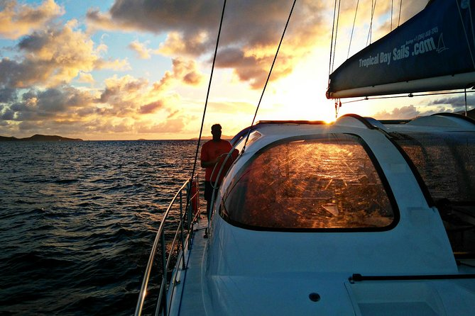 Explore the beauty of the British Virgin Islands aboard a 40-foot catamaran. Set sail, relax, and take in the tropical sunset. Whether snorkeling to observe the amazing marine life or island hopping to soak up the local culture, the captain and crew are devoted to ensuring a memorable adventure in paradise.