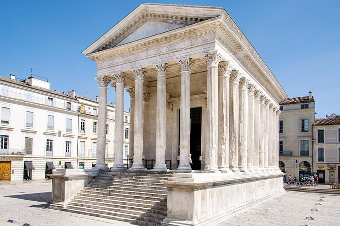 Discover the fascinating Roman remains of Provence! On this private tour from Avignon, learn about the time when southern France was a part of the Roman Empire as you drive to the city of Nîmes with your private guide. Visit the UNESCO World Heritage-listed Pont du Gard aqueduct near Uzès and venture to Nîmes to see several landmarks: the Arena of Nîmes and the must-see Maison Carrée (Square House), considered one of the best-preserved Roman temples in the world.