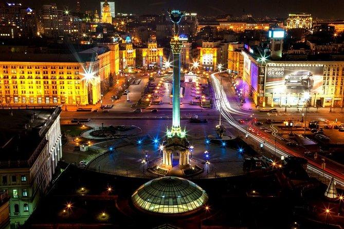 Kiev por la noche, Kiev, UCRANIA