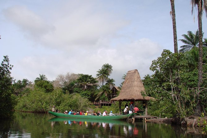 Makasutu, a nature lovers' paradise ! <br><br>Enjoy walk through the palm forest with morning breakfast <br><br>look out for various species of birds in the forest during your 1hr 30mins walk in the forest with your local guide. <br><br>Guarantee to see Red Colobus and Green velvet Monkeys, monitor Lizards, Pygmy Deer and Mongoose and maybe a glimpse of Baboons<br><br>A Gambian buffet lunch and display of a Jola cultural dancing tops the Day !