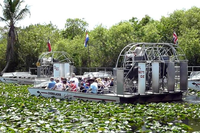 Shared Everglades Airboat Tour With Private Ground Transportation, Miami, FL, UNITED STATES
