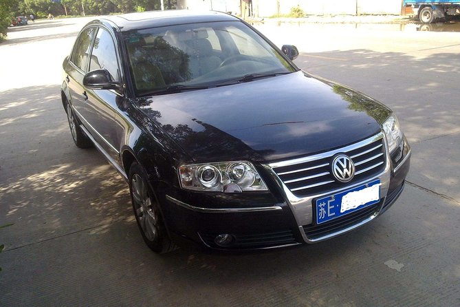 1-way Transfer Between Shanghai Pudong Airport and Wuxi Downtown Per Vehicle Price, Wuxi, CHINA