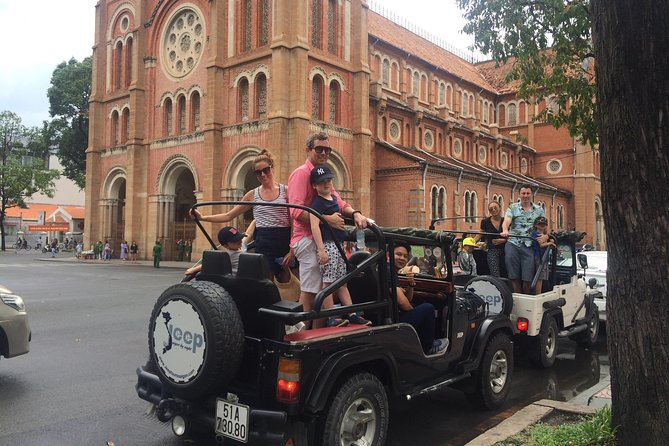 Familiarize yourself with the history and culture of Ho Chi Minh City on a 4-hour tour. Enjoy seeing a selection of the main sights and learn about the past and present of the area. Choose from a morning or afternoon tour, each with its own unique route. This half-day tour is the perfect activity to capture a glimpse of the historic landmarks and sites of Ho Chi Minh City such as the Reunification Palace, the War Remnants Museum, Notre Dame Cathedral, Emperor of Jade Pagoda, Ben Thanh Market...