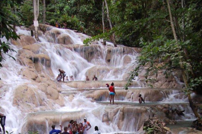 Combo de cataratas de río Dunn y Agujero azul, Ocho Rios, JAMAICA