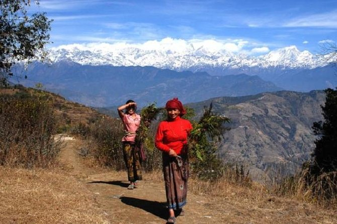 On this 10-hour private day trip, escape to the hills of Kathmandu Valley and hike to the village of Nagarkot. Walk through lush mountains and enjoy magnificent views of the snow-capped peaks of the Himalayas. Visit the remote temple of Changu Narayan to see Nepal's oldest stone inscriptions.