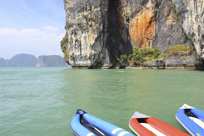 Viagem diurna de lancha à Baía de Phang Nga saindo de Phuket, Phuket, Tailândia