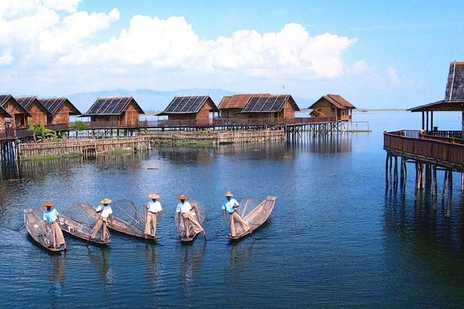 This trip allows us to explore the highlights of Inle Lake and its surrounding areas. See the unique leg-rowing fishermen and visit some of silk and cotton weaving villages. You also have chance to visit the holiest sites in this area of Shan State, the Phaungdaw Oo Pagoda .
