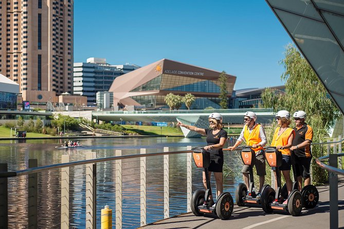 'It takes only moments to learn but forever to get the smile off your face' <br><br>Join your guide and experience all the iconic sights of Adelaide's Riverbank Precinct on a Segway. Hour long tours departing from the par three golf course North of the River Torrens weir in the city.