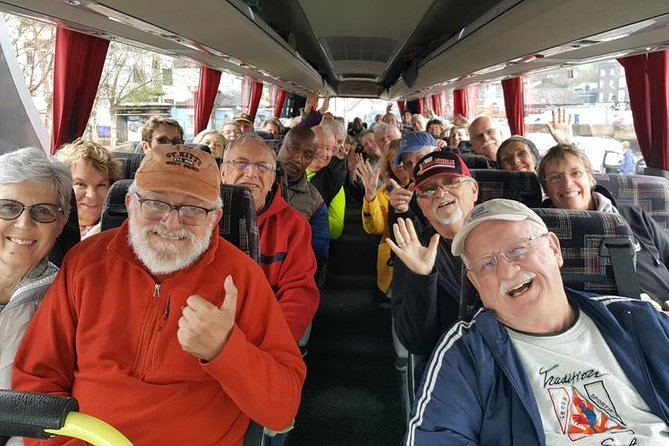 Exciting Shore Excursion from Cobh toBlarney Castle, Cork City, Kinsale and Cobh.Bus Tour starts/finishes at your ship.<br><br>Our Tour Includes:<br> - Admission To The Famous Blarney Castle & Gardens <br> - Shopping at Blarney Woolen Mills - The Worlds Largest Irish Store<br> - Driving Tour by Cork City<br><br>Our bus tour departs right from your ship in Cobh and returns back here again at the end of the tour.<br><br>We are based inCobh right by the port and have over 50 years experience.<br><br>Our driver/guides are all locals and have lots of interesting facts, fascinating history, fun stories, songs and jokes.