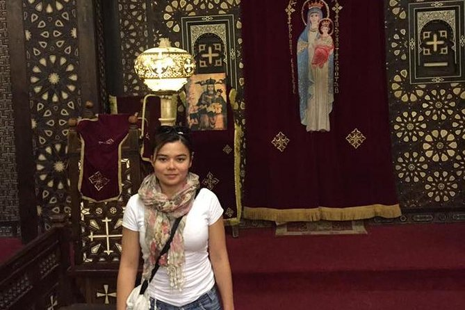 Learn about Old Cairo and visit the famous churches in Cairo along with Mohamed Ali alabaster mosque on this personal tour with a private Egyptologist. from cairo or giza hotel