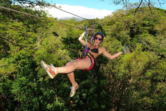 Buena Vista Combo Tour: Ziplining and Hot Springs from Guanacaste, Playa Hermosa, COSTA RICA