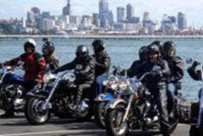 Recorrido en Harley Davidson por la ciudad de Auckland, Auckland, NUEVA ZELANDIA