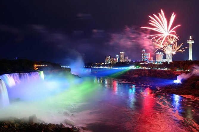 We offer Award winning Tours of Niagara Falls for last 25 years.<br><br>Experience the Falls with our Trained and Professional Tour Guides. We are premiere Niagara Falls Bus Tour company in Toronto, Ontario. We'll help you create the perfect once in a life time Sightseeing trip from Toronto to the Niagara Falls. We are offering complete full tour packages that fits in your vacation budget. Experience the wonder, the beauty, and the history of Niagara Falls we offer highly-rated, exclusive yet affordable guided tours to Canadian side of the Niagara Falls. Tours depart daily from Toronto throughout the year. End your day with an exciting (and explosive!) show of Fireworks & Illumination! The Niagara Falls Fireworks is famous for its technical brilliance and for its continued creative energy for many years. Fireworks are scheduled We have designated parking close to the Falls there which offers beautiful view of Lights and Fireworks.