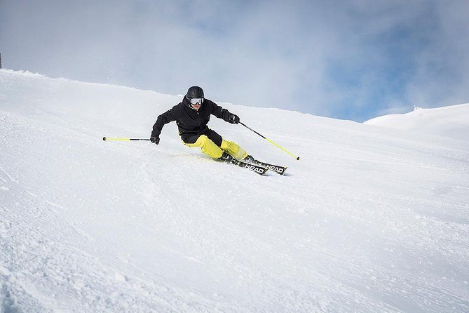 High-performance demo skis/snowboards utilizing the latest technology. Package includes skis/snowboard, boots, poles, helmet, equipment protection plan, and the ability to switch equipment at any time to try a different make or model.