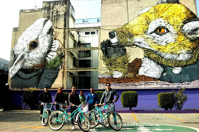 URBAN GALLERY Mexico City Street Art Bike Tour, Ciudad de Mexico, MÉXICO