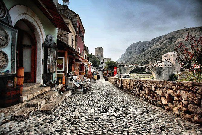 Mostar City Tour – designed by those who are part of the soul of this city !<br><br>The Old Bridge,UNESCO World Heritage Site, connects the cobblestone streets of Mostar's old town on either side of the river, as well as the mix of Ottoman, Western and Mediterranean influences that shaped this charming place.<br><br>Walking through Mostar is a walk through the past. Its ancient walls tell timeless tales of the way it used to be. Its present struggle to keep its identity as a multi-ethnic community is an inspiring model for the future.<br><br>Experience Bosnia Herzegovina's most photographed city!
