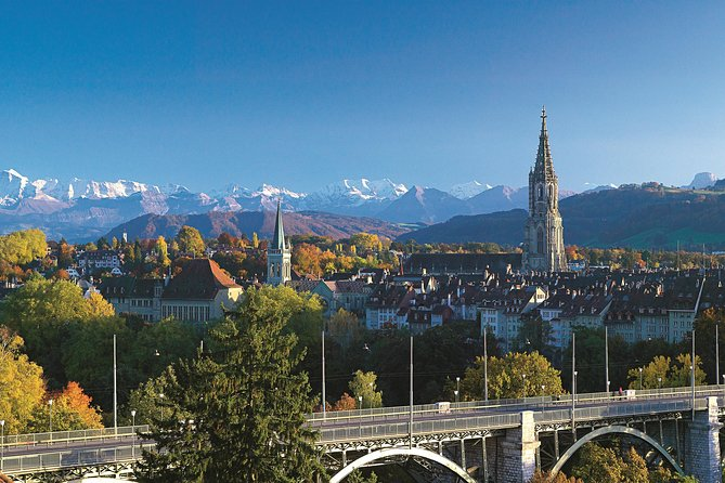 Step back in time to medieval Switzerland and explore the country's rural heartlands on this Bern day trip from Lucerne. Travel through the mountainous Entlebuch Valley — a UNESCO Biosphere Reserve — with your guide; visit the Kambly Experience to see how Switzerland's finest biscuits are made; and explore Bern's UNESCO World Heritage–listed Old Town. Then, gain insight into the ancient art of Emmental cheesemaking during a visit to a show dairy. Enjoy personal attention from your guide on this small-group tour, limited to 16 people.