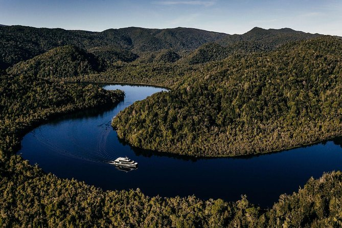 Named 'Tasmania's Best Guided Tour' in 2018, a Gordon River Cruise takes you deep into the UNESCO Tasmanian Wilderness World Heritage Area, to explore a place rich with natural histories and tales of human history. Cruise into this wild place aboard Spirit of the Wild, a custom-built vessel, equipped with electric motors to allow you to cruise quietly on the Gordon River and experience its true tranquility.<br><br>Enjoy a Chef-prepared menu that caters for all requirements, as well as dedicated on-board guides.<br><br>Cruise aboard Spirit of the Wild with the Tasmanian owned and operated Gordon River Cruises to be first on the river, giving you the best chance of seeing the famous reflections.<br>