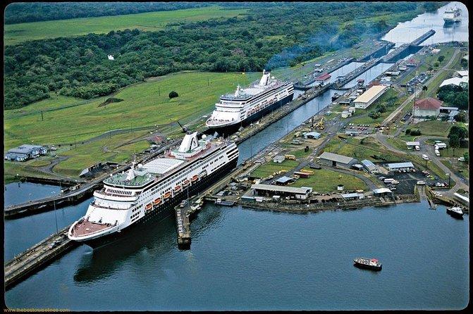 Recorrido por parte del Canal de Panamá, Ciudad de Panama, PANAMA