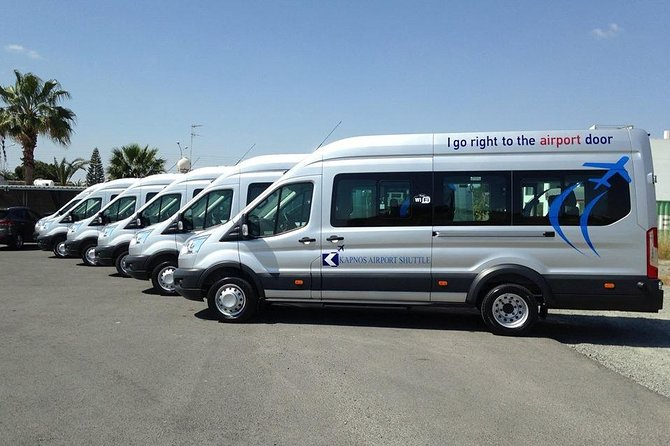 Shared shuttle transfer from Larnaca Airport to Hotels, Larnaca, CHIPRE
