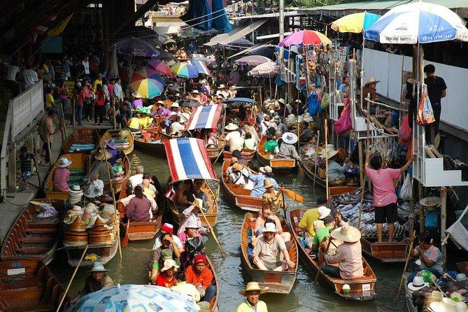 One day Kanchanaburi : Floating market and Kwai River, Kanchanaburi, TAILANDIA