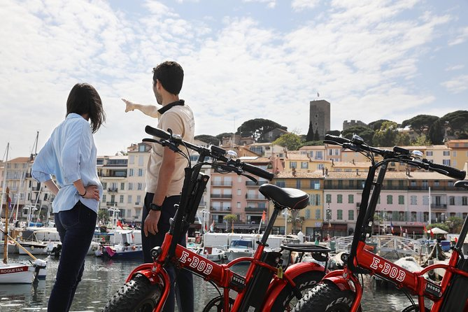 In this 2-3 hour tour, follow your guide and discover the famous French Riviera city : Cannes by riding an amazing ebike,. Explore Cannes: the old port, the Suquet neighborhood, the famous La Croisette boulevard, La Californie or Palm Beach area. See the iconic hotels, the luxurious shops and the Palace Festival. Ride along the sea and the beaches and make several stops to take pictures, to shop or to have a drink.