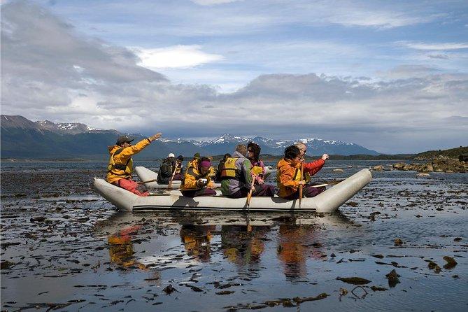 Eco aventura de dia inteiro à Ilha Gable no Canal de Beagle, Ushuaia, ARGENTINA