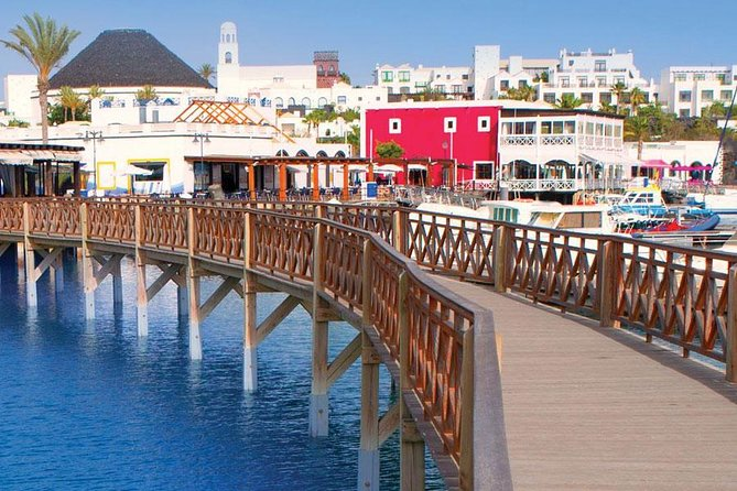 Enjoy a boat journey from Fuerteventura to Marina Rubicón, Lanzarote. Explore the outdoor craft market and boutiques at a luxury marina. Pleasure cruise to the virgin beaches of Papagayo. Watch marine life through glassbottom boat whilst anchored at Papagayo. Free time for sunbathing and swimming.