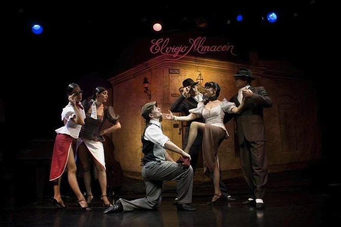 El Viejo Almacen Tango Show with Optional Dinner, Buenos Aires, ARGENTINA