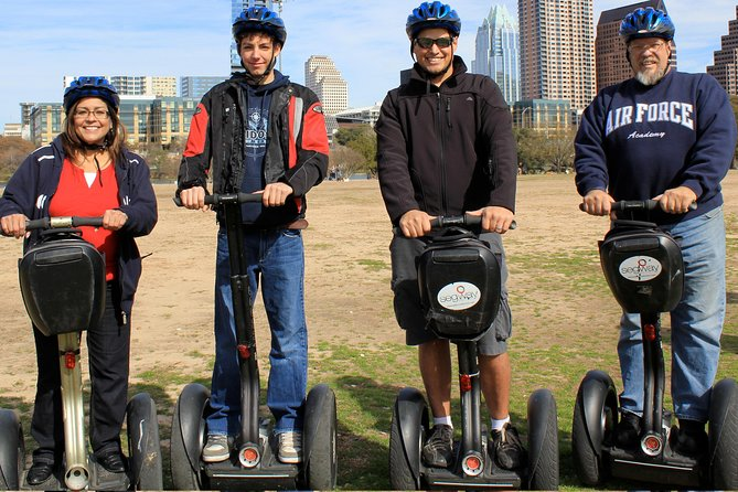 Segway Nation's 2 hour Historic Downtown Austin Segway tour is offered once daily. This Austin Segway tour is our most popular tour, and is designed to be fun, entertaining and informative. This tour explores many of Austin's historic landmarks, brilliant modern skyscrapers, the Texas state capitol building, and other historic and interesting buildings throughout downtown. Some of the Tour Highlights include the Texas State Capitol Building • Congress Avenue • Historic Driskill Hotel • Warehouse Entertainment District • Newly Redesigned 2nd Street District • Town Lake/Lady Bird Lake • Austin Convention Center • Famous 6th Street and Live Music Area • The Texas Walk of Fame • Angelina Eberly Statue • Many other great historic sites • Plenty of time to play on your Segway, lots of fun facts and time for great photos