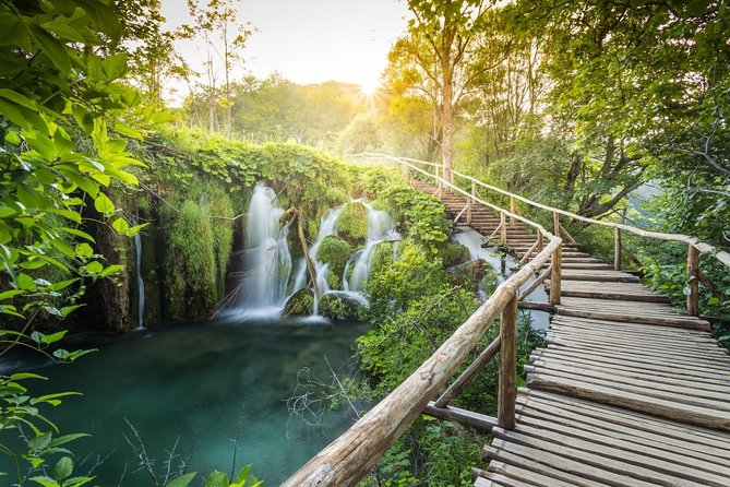 Connected by waterfalls, circled by forest and crisscrossed with wooden bridges, the Plitvice Lakes are a nature lover's dreams!