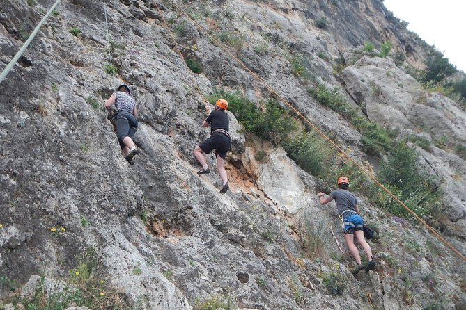Rock Climbing at Kardamili- West Mani, Kalamata, GRECIA
