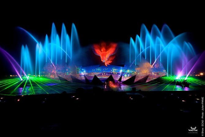 End your day at Sentosa with the Award Winning Outdoor Night Showin the world set against the majestic open sea. Be mesmerized by a multi-sensory presentation of water display, laser show, fire effects and spectacular music as you soar through space and time in a magical adventure.