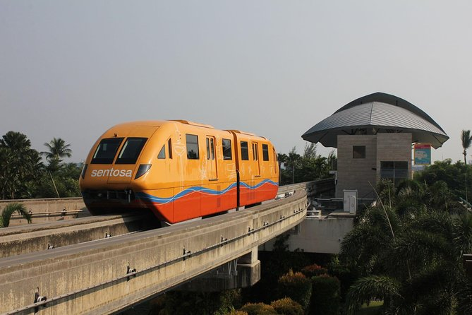 Abroad the famous Sentosa Express and get access into Sentosa with the fastest way possible