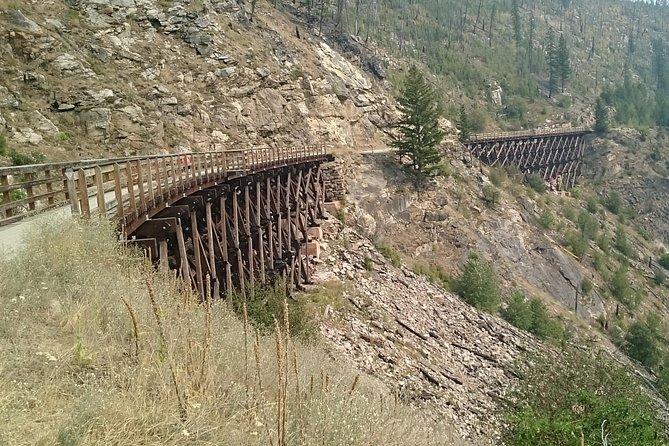Myra Canyon Hike & Picnic, Kelowna y Okanagan Valley, CANADA