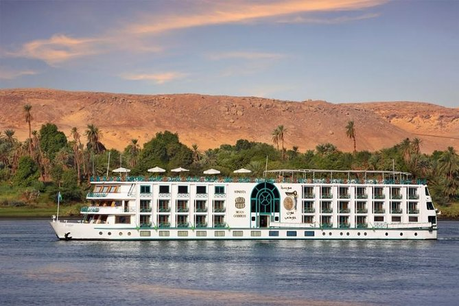 Enjoy a trip to the heart of Egypt, Enjoy beautiful Nile Valley scenery as you cruise down the Nile River, take the 5 star Luxury cruise for 4-Day Nile River Cruise between Aswan and Luxor. It is the best way to see the incredible ruins of Ancient Egypt and modern life along the banks of the Nile, which has brought life to Egypt for millennia. <br><br>By Sailing onboard Egypt Nile Cruises between Aswan and Luxor, you will have the chance to visit fascinating attractions in the Ancient Upper Egypt such as Luxor Temple (The World's Largest Outdoor Museum), Karnak Temple (The heart of Egypt during the New Kingdom), Hatshepsut Temple (Hatshepsut is distinguished in history for being one of the most successful pharaohs of Ancient Egypt), Philae Temple (Philae rose to prominence during the Ptolemaic Dynasty as the center of the cult of the goddess Isis) and more! seek out the services of an Egyptologist guide to learn more about Ancient Egypt