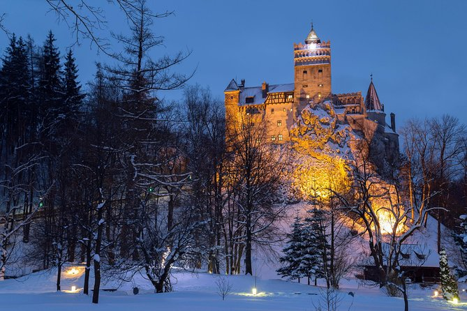 Bran Castle - Dracula's Castle after hours, Brasov, RUMANIA