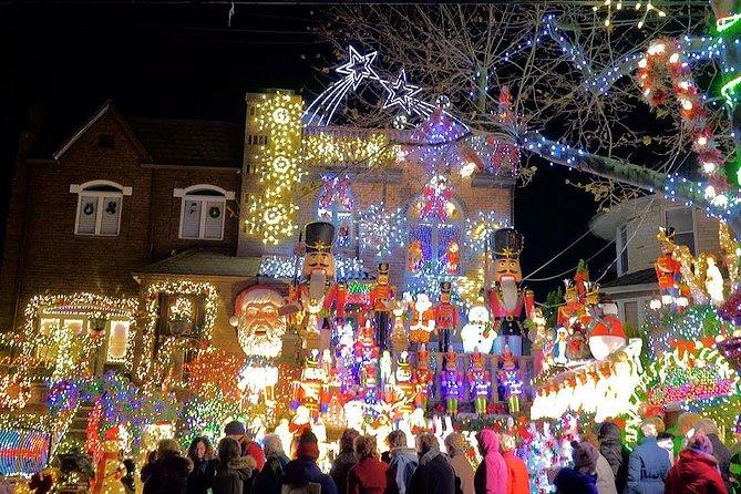 Luzes De Natal Em Dyker Heights Nova York New York Ny Estados Unidos
