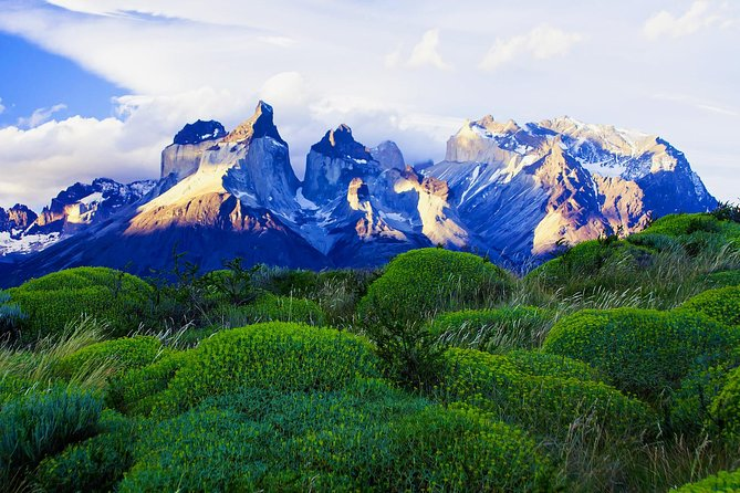 Enjoy the astounding landscape of one of the Eight Wonders of the World, Torres del Paine National Park, where you will live an unforgettable experience seeing this beautiful nature. <br><br>Visit Torres del Paine National Park, declared one of the Eighth Wonders of the World <br><br>Marvel at the spectacular view of the floating icebergs of Gray Glacier <br><br>Visit to the Milodon Cave Natural Monument