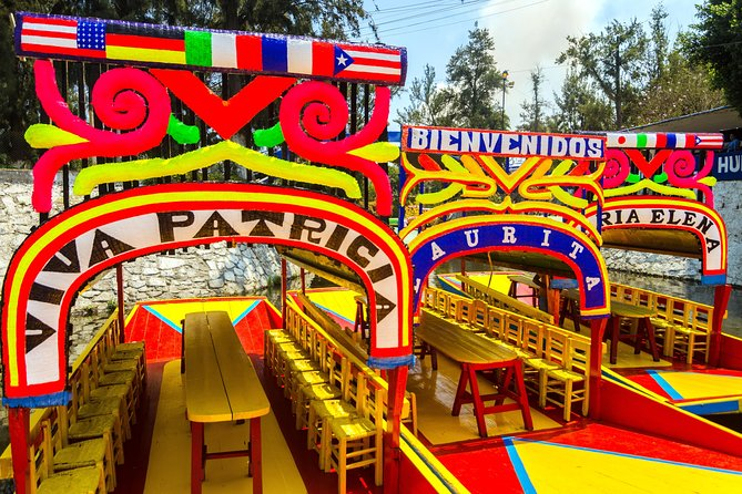 Make the most of your trip to Mexico City with this Super Saver that includes 6 of the top visited attractions in the city and its surroundings in two days. Experience ancient history at Teotihuacan and Tlatelolco and the importance of religion at Guadalupe Shrine. Then, enjoy a mix of color as you visit Xochimilco and ride on a trajinera and learn culture and art in Coyoacan and the Frida Kahlo museum. This is the best combination to see, feel and experience the best of what Mexico City has to offer. The tour includes transport and a professional guide.<br><br>The date you choose upon booking is for the Teotihuacan and Guadalupe Shrine tour. The Xochimilco and Frida Kahlo tour is taken the following day.<br><br>