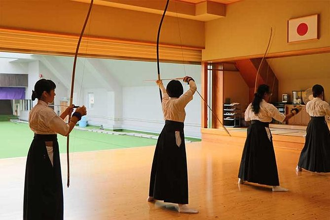 "First of all, please check Instagram: #wasabijpkyudo #wasabijp<br><br>we are  ""wasabi experience project""<br><br>This project provides Japan's carefully selected superb experiences.<br><br>Join this 2-hour experience in Tokyo and learn kyudo, the Japanese art of archery, from an experienced instructor who will guide you through every step to help you hit the target. Usually when people take up kyudo in earnest, it takes several days of practice before they are allowed to actually shoot at a target, but this class lets you go straight into action. Don a traditional kyudo uniform, channel your inner samurai, and aim at the middle of the target!<br>"