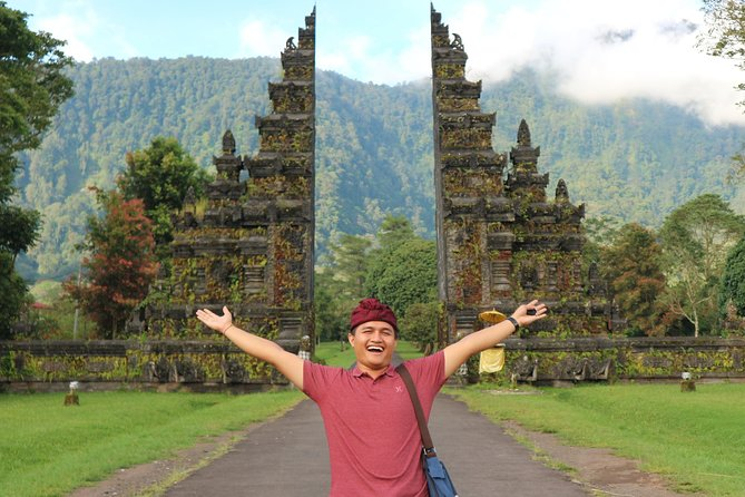 Discover Bedugul and Jatiluwih on this 10-hour private day tour with an experienced driver/guide. Explore Taman Ayun Temple, Coffee Plantation, Ulun Danu Beratan Temple & Lake, Jatiluwih Rice Terraces and Tanah Lot Temple. This private tour is suitable for solo, couple, family and small group up to 5 travelers. Your tour also includes: Private air-conditioned car, driver/guide, all entrance tickets, mineral water and parking fees. Pick up and drop off: Sanur, Ubud, Canggu, Seminyak, Legian, Kuta, Benoa, Nusa Dua, Jimbaran and Denpasar.