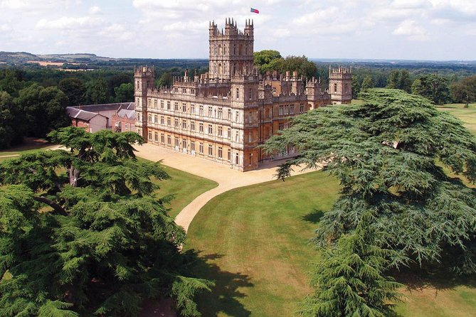 Take a journey back to the early nineteenth century on this fully guided small group tour from London that includes a tour of Downton Village and entry to Highclere Castle.