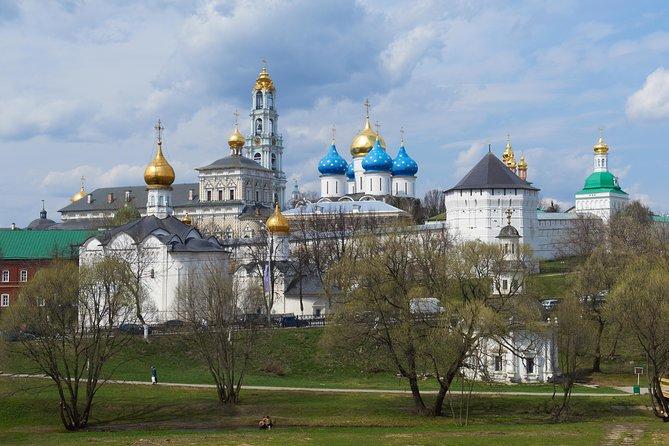Excursión privada: escapada de un día a Sérgiev Posad y excursión al Monasterio de la Santísima Trinidad de San Sergio., Moscu, RUSIA
