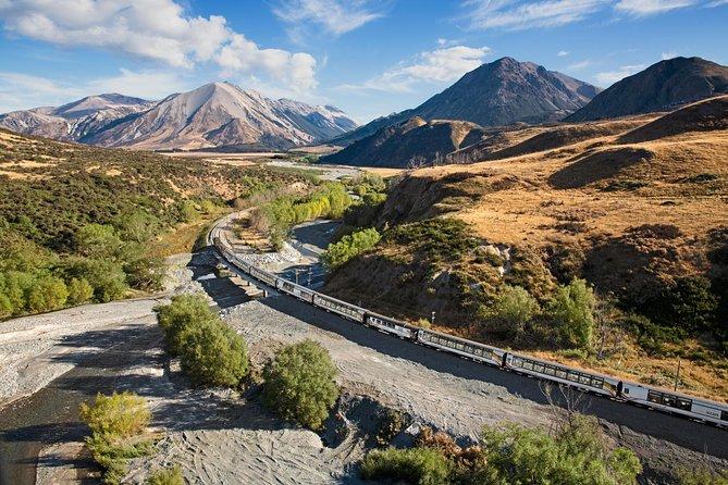 Pase para el tren TranzAlpine de Christchurch a Greymouth, Christchurch, NUEVA ZELANDIA